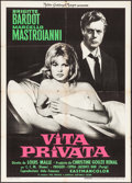 """Movie Posters:Foreign, A Very Private Affair (MGM, 1962). Italian 2 - Fogli (39"""" X 55""""). Foreign.. ..."""
