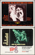 """Movie Posters:Science Fiction, The Satan Bug & Other Lot (United Artists, 1965). Rolled, Overall: Very Fine-. Half Sheets (2) (22"""" X 28""""). Science Fiction.... (Total: 2 Items)"""