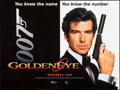 "Movie Posters:James Bond, GoldenEye (United Artists, 1995). British Quad (30"" X 40"") DSAdvance. James Bond.. ..."