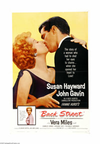 """Back Street (Universal International, 1961). One Sheet (27"""" X 41""""). Offered here is an original poster for thi..."""