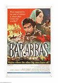 "Movie Posters:Adventure, Barabbas (Columbia, 1962). One Sheet (27"" X 41""). Offered here isan original poster for this Biblical drama directed by Ric... (1 )"