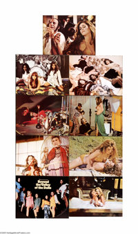 """Beyond the Valley of the Dolls (Twentieth Century Fox, 1970). Lobby Card Set of 9 (11"""" X 14""""). Offered here is..."""