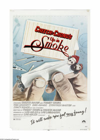 """Cheech and Chong's Up in Smoke (Paramount, 1978). One Sheet (27"""" X 41""""). Offered here is an original poster fo..."""