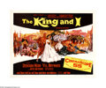 """Movie Posters:Musical, The King and I (20th Century Fox, 1956). Half Sheet (22"""" X 28""""). This was the film version of Roger's and Hammerstein's 1951... (1 )"""