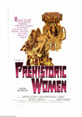 "Movie Posters:Adventure, Prehistoric Women (Warner Brothers, 1967). One Sheet (27"" X 41"").Offered here is an original poster for this fantasy advent... (1 )"