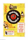 """Movie Posters:Rock and Roll, Teenage Millionaire (United Artists, 1961). One Sheet (27"""" X 41"""").Offered here is an original poster for this musical comed... (1 )"""