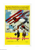 "Movie Posters:War, Von Richthofen and Brown (United Artists, 1971). One Sheet (27"" X41""). Offered here is an original poster for this war dram... (1 )"
