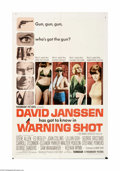 """Movie Posters:Mystery, Warning Shot (Paramount, 1967). One Sheet (27"""" X 41""""). Offered hereis an original poster for this mystery directed by Buzz ... (1 )"""