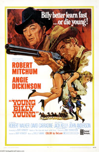 """Young Billy Young (United Artists, 1969). One Sheet (27"""" X 41""""). Offered here is an original poster for this W..."""