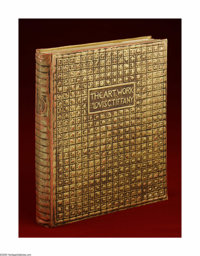 An Important Book Of Tiffany Art The Art Work of Louis Comfort Tiffany, Garden City, New York Doubleday, Page & Comp...