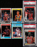 Basketball Cards:Sets, 1988 Fleer Basketball Cards & Stickers Complete Set (132+11) Plus '87 Jordan & Extra Pippen Rookie. ...