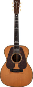 Musical Instruments:Acoustic Guitars, 1936 Martin 000-45 Natural Acoustic Guitar, Serial # 62275.... (Total: 2 )