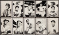 Baseball Cards:Sets, 1953 Bowman Black & White Baseball Complete Set (64). . ...