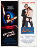 "Movie Posters:Sexploitation, Heavenly Bodies & Others Lot (Eve Productions, 1963). Inserts(4) (14"" X 36""). Sexploitation.. ... (Total: 4 Items)"