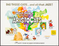 "Movie Posters:Animation, The Aristocats (Buena Vista, R-1973). Half Sheet (22"" X 28"").Animation.. ..."