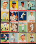 Baseball Cards:Sets, 1933 Goudey Baseball Partial Set (76/240) With Stars. . ...