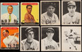 Baseball Cards:Lots, 1933 Sport Kings, 1939 Play Ball, 1940 Play Ball Collection (96)W/1939 DiMaggio. . ...