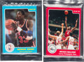 Baseball Cards:Sets, 1984-85 Star Philadelphia 76ers & 1986 Star Best of The New/OldBagged Sets (2)...