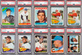 Baseball Cards:Lots, 1964 - 1966 Topps Baseball Mid To High Grade Collection (1,300+)....