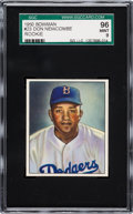 Baseball Cards:Singles (1950-1959), 1950 Bowman Don Newcombe #23 SGC 96 Mint 9 - Pop One, NoneHigher....