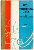 Memorabilia:Movie-Related, The Film Daily Production Guide and Director's AnnualHardcover (Film Daily, 1934)....