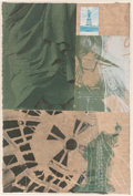 Prints & Multiples, Robert Rauschenberg (1925-2008). Statue of Liberty, from the New York, New York portfolio, 1983. Screenprint in ...