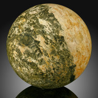 Orpiment Sphere Stone Source: Russia