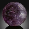 Lapidary Art:Eggs and Spheres, Amethyst Sphere. Stone Source: Rio Grande do Sul, Brazil....