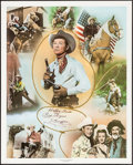 "Movie Posters:Western, Roy Rogers Print (Nostalgia Merchant, 1977). Signed and Numbered Personality Poster (24"" X 30""). Western.. ..."