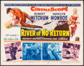 "Movie Posters:Western, River of No Return (20th Century Fox, 1954). Half Sheet (22"" X 28""). Western.. ..."
