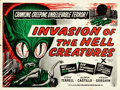 """Movie Posters:Science Fiction, Invasion of the Saucer-Men (Anglo Amalgamated, 1957). British Quad (30"""" X 40"""") British Title: Invasion of the Hell Creatur..."""