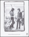 "Movie Posters:Rock and Roll, Mick Jagger and Keith Richards by Ethan Russell (Virgin, 2003).Virgin Megastore Promotional Poster (22"" X 28"") ""Riff."" Rock..."