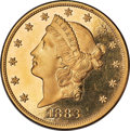 Proof Liberty Double Eagles, 1883 $20 PR64 Deep Cameo PCGS Secure....