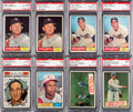 Baseball Cards:Lots, 1961 Topps Baseball PSA-Graded Collection (19) With Two MantleCards. ...