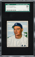 Baseball Cards:Singles (1950-1959), 1950 Bowman Johnny Mize #139 SGC 96 Mint 9 - Pop One, NoneHigher....