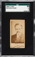 Olympic Cards:General, 1888 N332 S. F. Hess Dan O'Leary SGC 60 EX 5 - The Only SGC &PSA Graded Example! ...