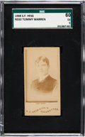 Boxing Cards:General, 1888 N332 S. F. Hess Tommy Warren SGC 60 EX 5 - One of Only TwoGraded Examples! ...