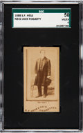 Boxing Cards:General, 1888 N332 S. F. Hess Jack Fogarty SGC 50 VG/EX 4....