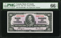 Canadian Currency, BC-24c $10 1937. ...