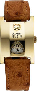 Timepieces:Wristwatch, Lord Elgin Direct Read, Circa 1950's. ...