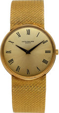Timepieces:Wristwatch, Patek Philippe Calatrava Ref 3618/1 Wristwatch in 18K Yellow Gold, circa 1970's. ...
