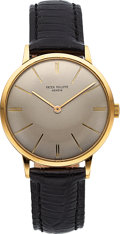 Timepieces:Wristwatch, Patek Philippe, Ref 3468 18K Yellow Gold, Circa 1965 . ...