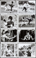 "Movie Posters:Action, Enter the Dragon (Warner Brothers, 1973). Photos (12) (8"" X 10""). Action.. ... (Total: 12 Items)"