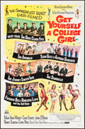 "Movie Posters:Comedy, Get Yourself a College Girl (MGM, 1964). One Sheet (27"" X 41""). Comedy.. ..."