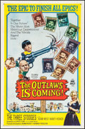 """Movie Posters:Comedy, The Outlaws is Coming (Columbia, 1965). One Sheet (27"""" X 41"""").Comedy.. ..."""