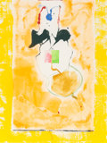 Fine Art - Work on Paper:Print, Helen Frankenthaler (1928-2011). Solar Imp, 2001. Screenprint in colors on cream wove paper. 39-1/4 x 30 inches (99.7 x ...