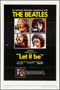 """Movie Posters:Rock and Roll, Let It Be (United Artists, 1970). One Sheet (27"""" X 41""""). Rock and Roll.. ..."""