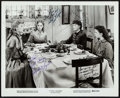 """Movie Posters:Drama, Little Women (MGM, R-1962). Autographed Photo (8.25"""" X 10"""").Drama.. ..."""