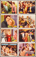 "Movie Posters:Drama, Lloyds of London & Other Lot (20th Century Fox, 1936). LobbyCard Set of 8 (11"" X 14"") & Photo (11"" X 14""). Drama.. ...(Total: 9 Items)"