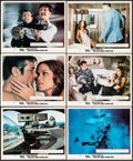 Movie Posters:James Bond, The Spy Who Loved Me & Other Lot (United Artists, 1977).British Front of House Color Photos (6) & Mini Lobby Card Setof 8 ... (Total: 14 Items)
